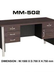 """""""Meja Kantor VIP MM 502"""""""