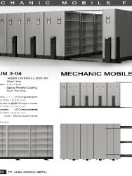 """""""Mobile File Alba Mekanik MF AUM 3-04 B"""""""