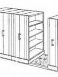 """Mobile File System Manual Elite MF-100-4B (24 CPTS)"""