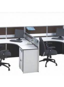 Partisi Kantor Modera 3.2 WS 2 Staff