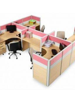 Partisi Kantor Modera 6.3 WS 4 Staff