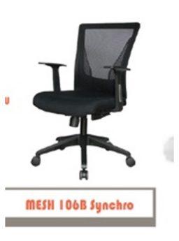 Kursi Kantor Carrera Type Mesh 106B Synchro