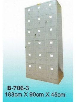 Locker Brother 18 Pintu B 706-3
