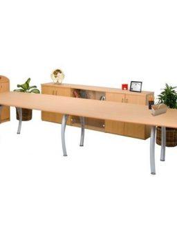 Meja meeting kantor Aditech SR 3600 (360cm)