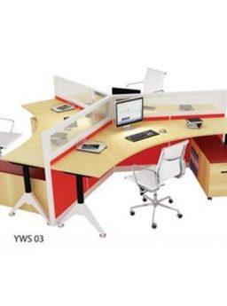 Partisi kantor Donati YWS 03